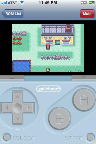 [Emulateur GBA] Jouer à Pokémon sur son iPhone/iPod !  Gbaphone